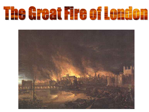 The Great Fire of London full English and topic scheme of work