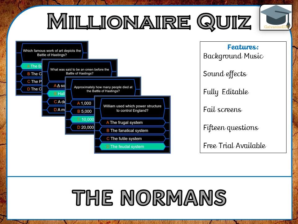 Millionaire Quiz! (Norman Edition)