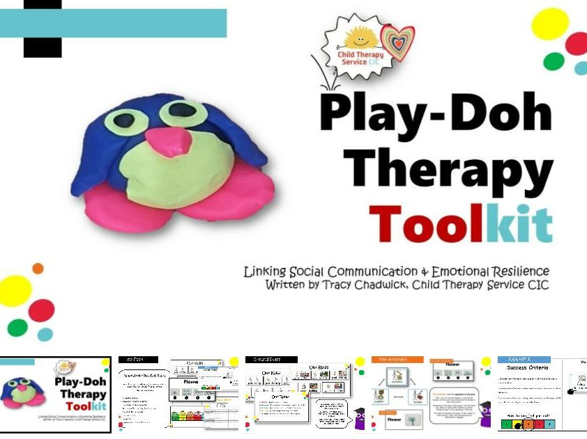 PLAY-DOH THERAPY: THE TOOLKIT (5-11YRS)