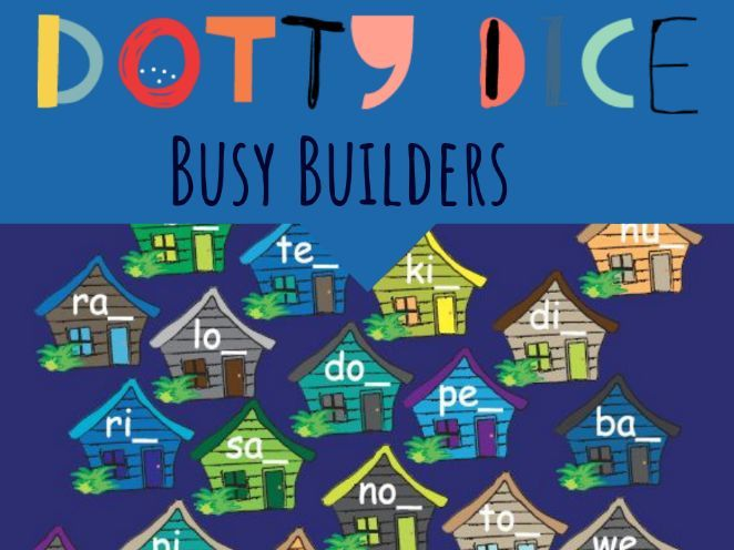 Literacy Board Game - Final Consonant - Busy Builders