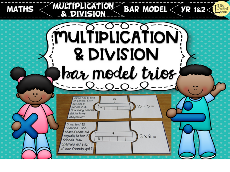 Multiplication and Division Bar Model Trios Yr 1 & 2