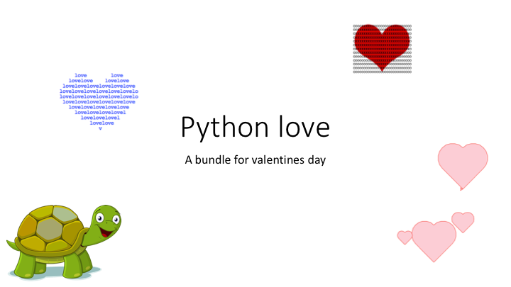 Python Love Valentines Day Bundle By Studeapps Teaching