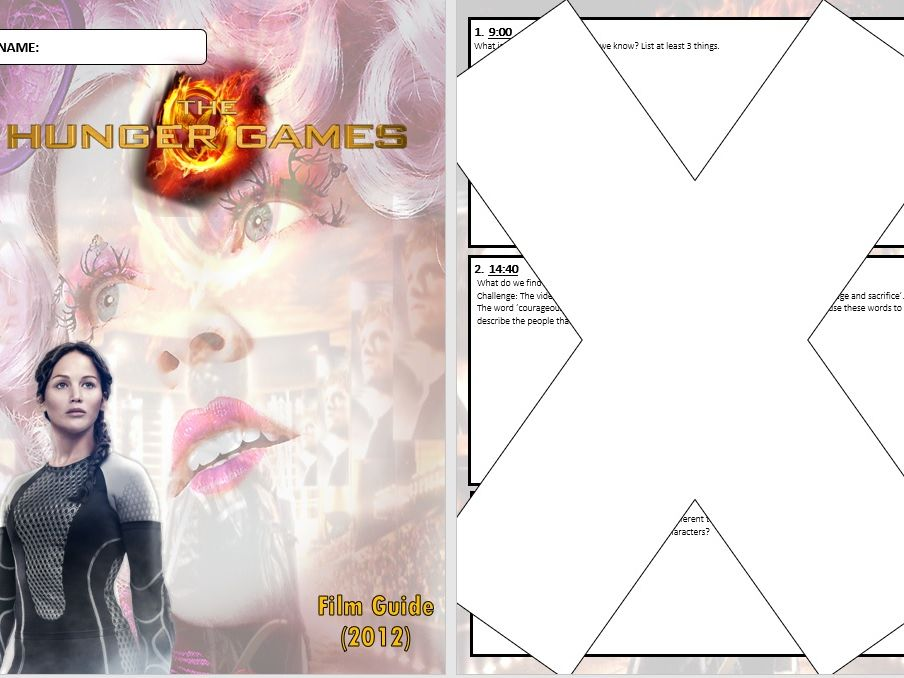 The Hunger Games Film Question Booklet