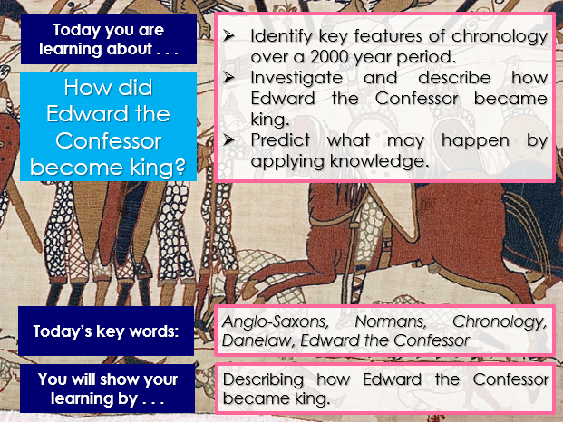 Anglo-Saxon and Norman England, GCSE 9-1