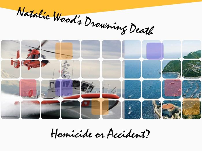 Natalie Wood - Drowning - Homicide v. Accident - Murder - 68 Slides