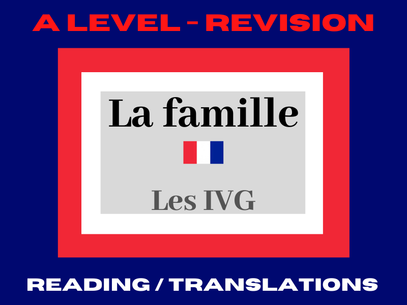 French A Level IVG