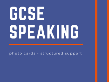 GCSE Spanish Speaking - Photo Cards structured support