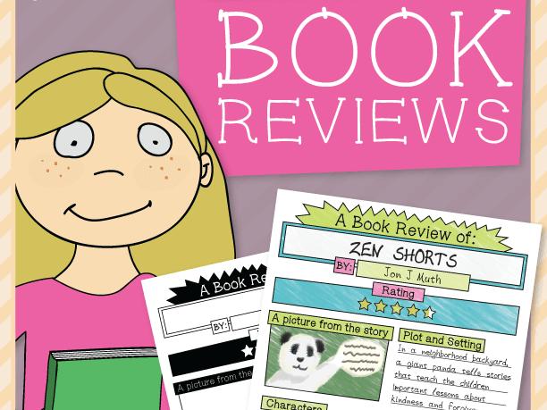 Book Report Sheet – Short 'n' Sweet!