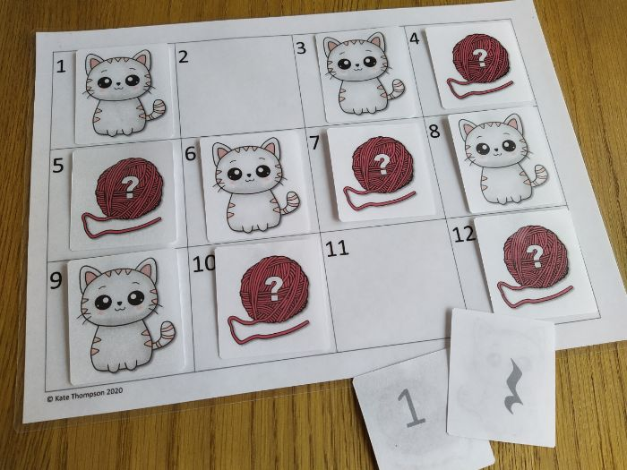 Music Note and Rest Values Matching Game - Kittens!