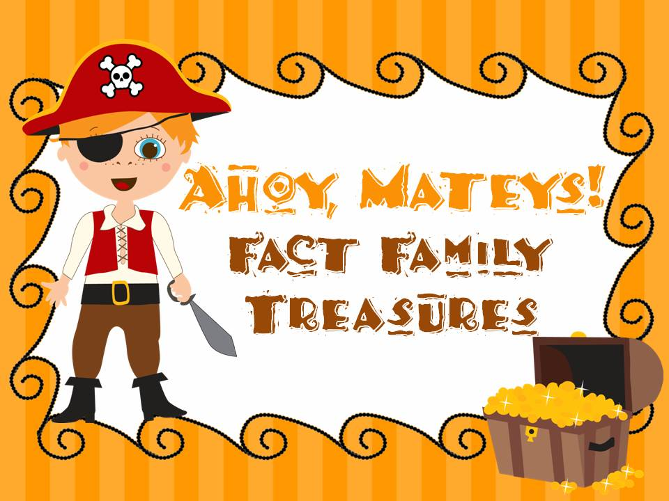 Fact Families - Pirate Theme