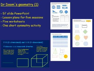 Geometry 1 Y3 -  Unit of work - Polygons, classifying and producing  2-D and 3-D shapes & symmetry