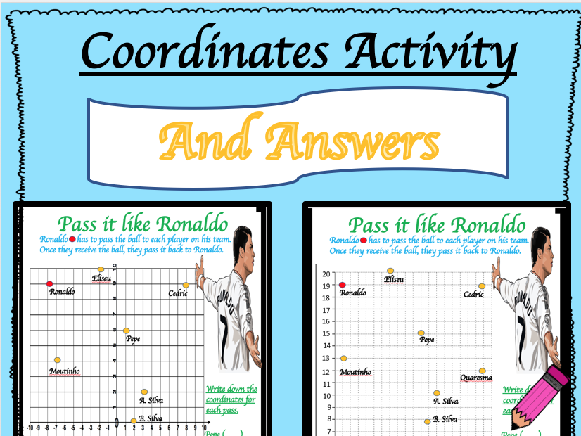 Coordinates Activities: Differentiated