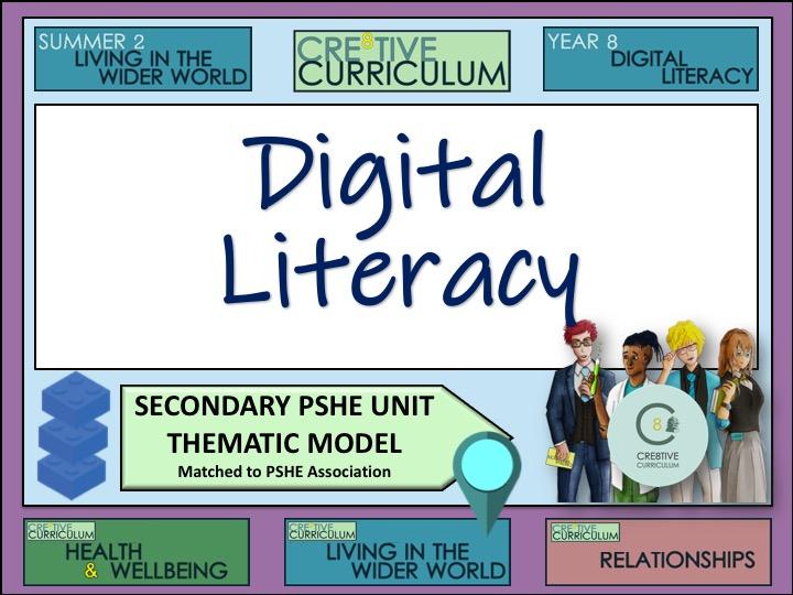 Thematic PSHE Digital Literacy