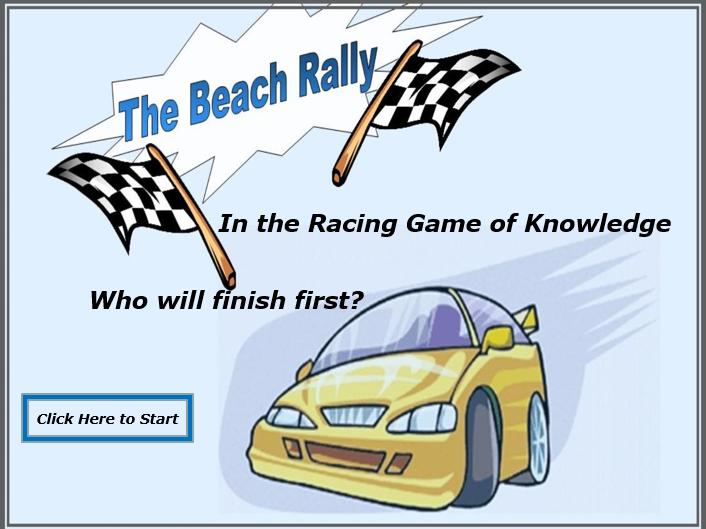 Recap game - Car race!