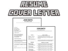 Resume & Cover Letter Template (Editable in Google Docs)