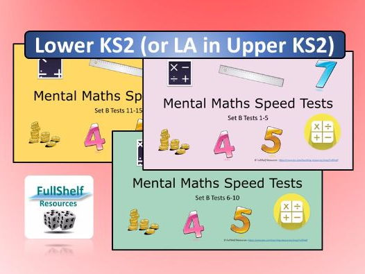 Year 3 & 4 Mental Maths Powerpoint Tests