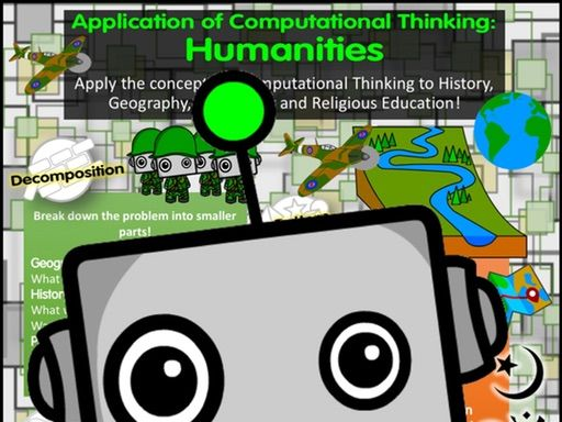 Application of Computational Thinking: Humanities