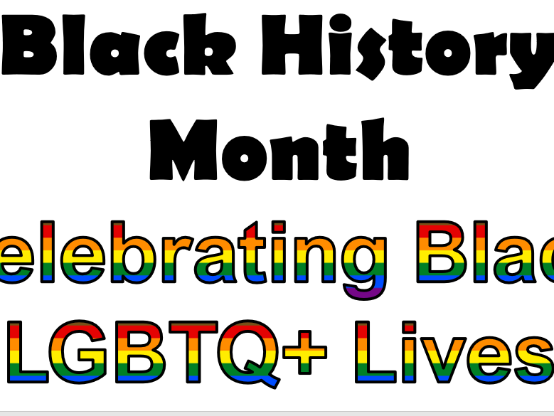 Black History Month LGBTQ Celebration Assembly/ PSHE lesson