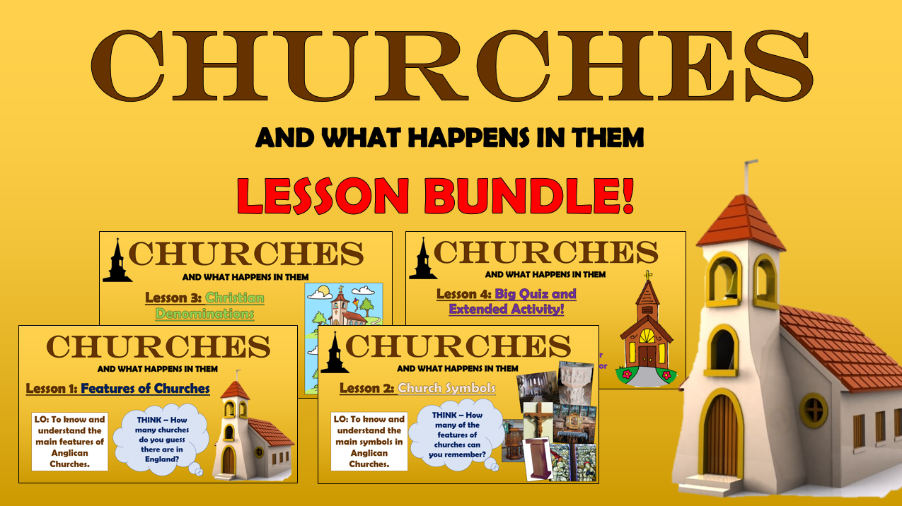 Churches - Lesson Bundle!