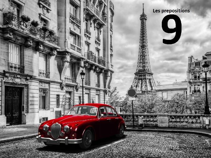 French FLE/ DELF: Lecon 9