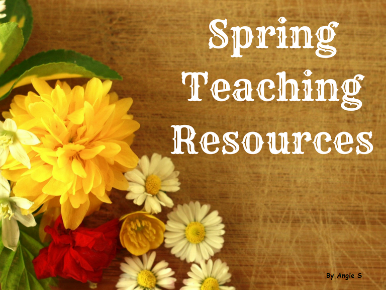 Spring Activities and Worksheets Bundle