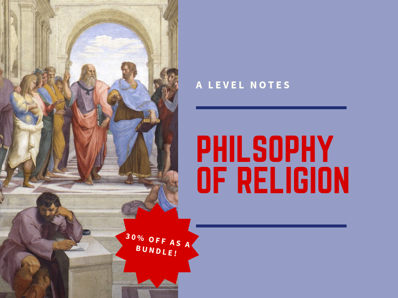 Philosophy of Religion - A Level Revision Notes