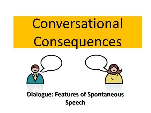 AQA A2  English Language: Spoken Language Features