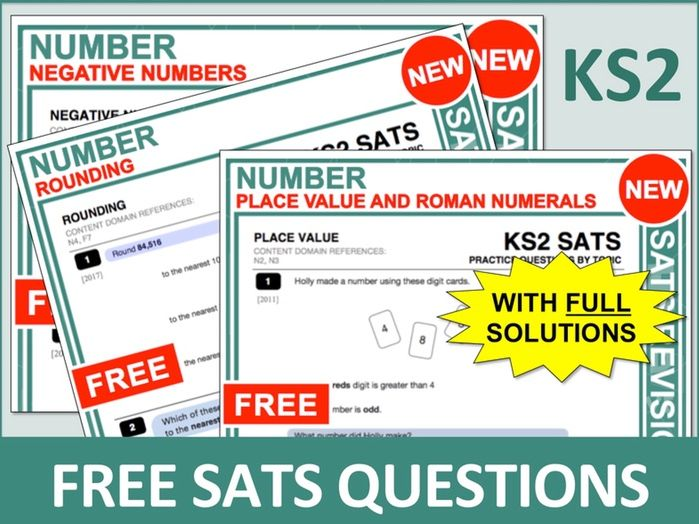 SATs Bundle (Number)