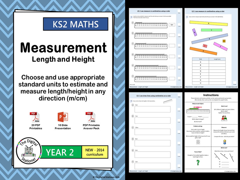 Year 2 – Measurement - Length & Height – White Rose - Block 5 - Week 11 (INC. MASTERY)