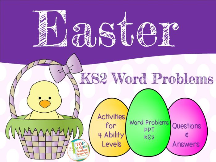 Easter Maths Word Problems KS2