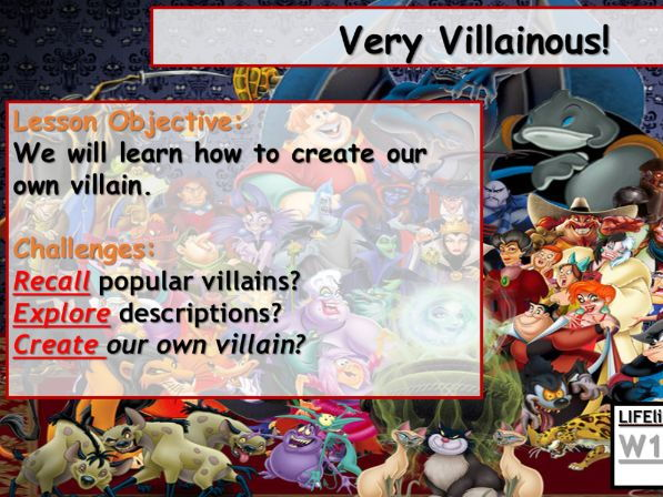 Creating a Villain - Creative Writing
