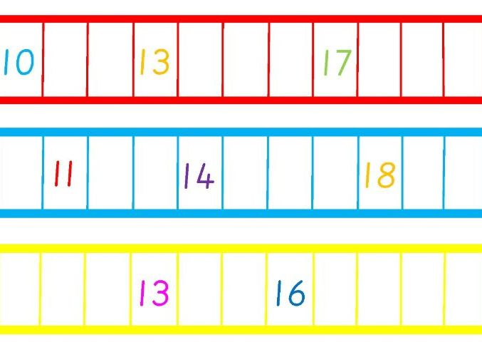 Missing Numbers to 20 | Teaching Resources