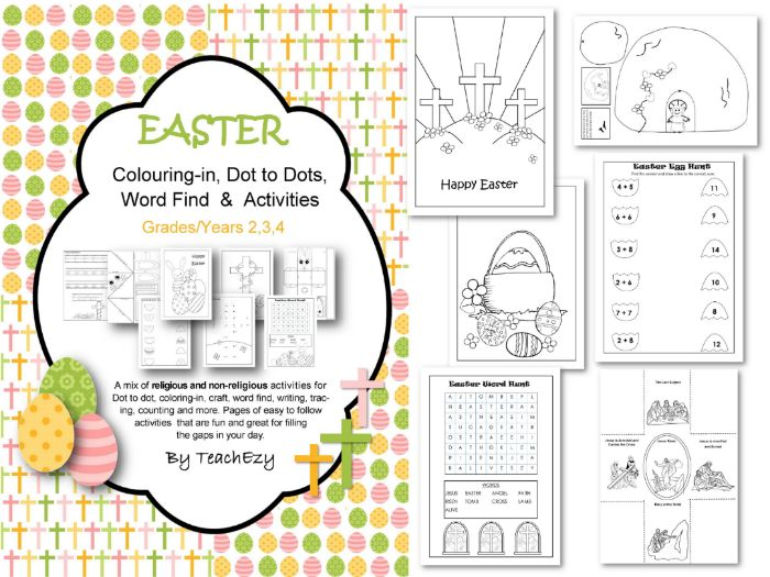 Easter Activities for Years 2-4