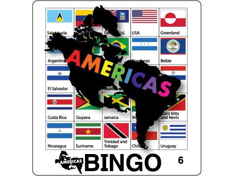 Flag Bingo - Americas