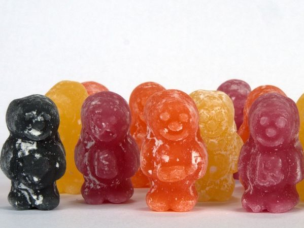 The Jelly Baby Population Game