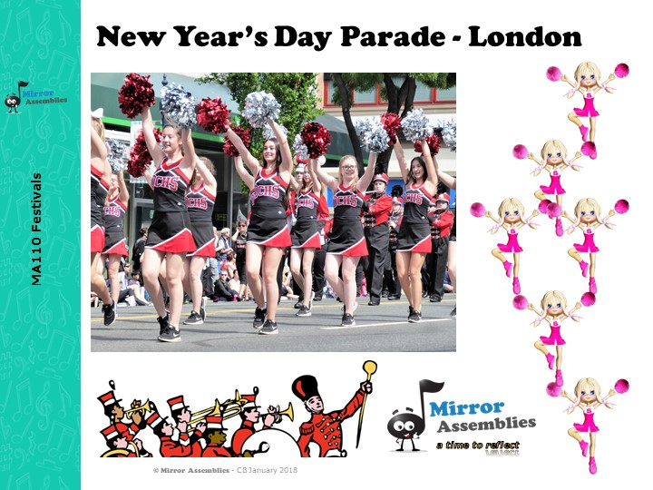 London's New Year's Day Parade - An assembly for Primary Schools