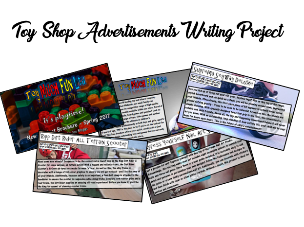 KS2 Advertising Writing Resources - Toy Company Brochures