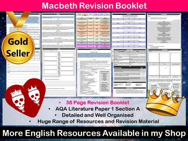 Macbeth Revision Booklet