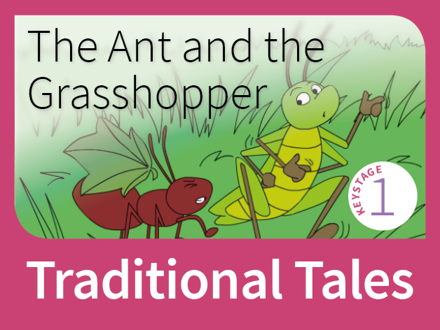 The Ant and the Grasshopper - Harvest Tales (Traditional Tales)
