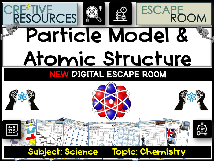 Science Escape Room - Atomic Structure