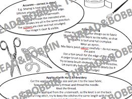 KS3 Textile Sample Evaluation Worksheet