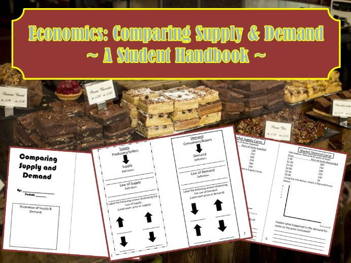 U.S. Economics: Supply and Demand Student Handbook