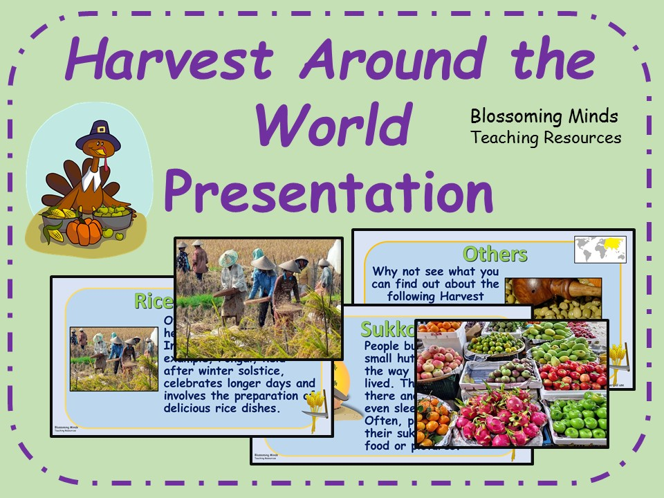 Harvest Around the World Presentation