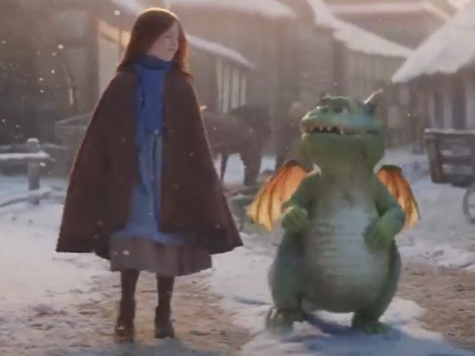 English / Literacy Recount - Excitable Edgar (Waitrose 2019 Christmas Advert)