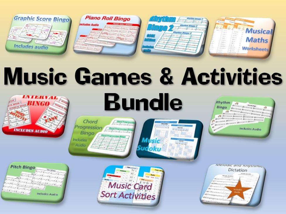 Music Games & Activities Bundle