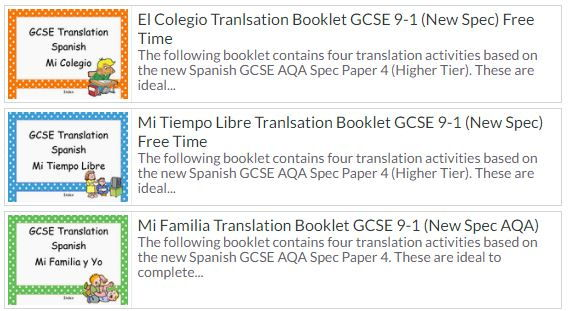 Translation Bundle 1