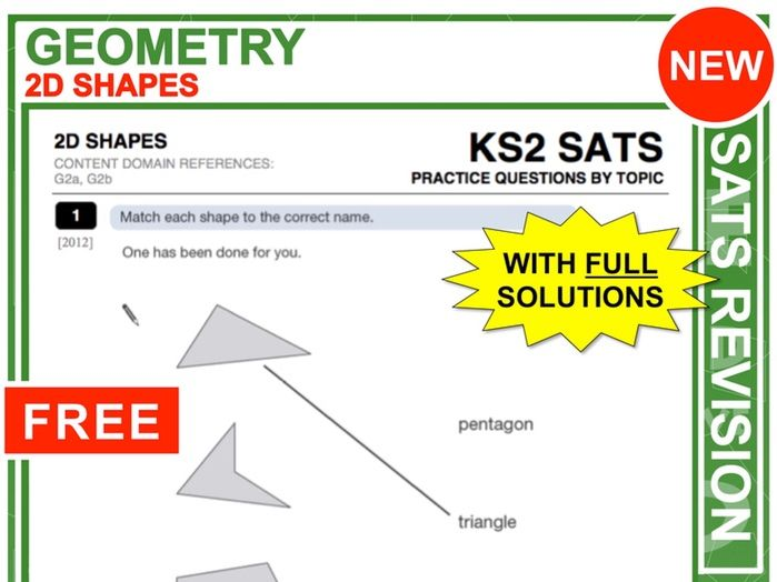 Y6 Maths SATs Revision (2D-Shapes)