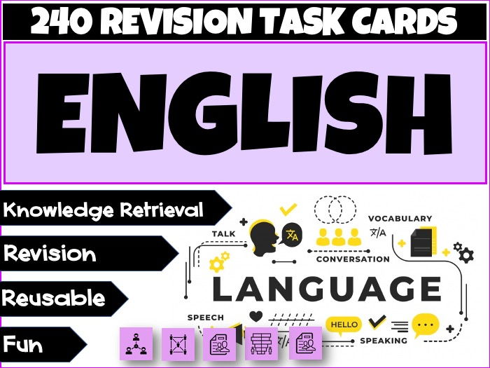 English Drama Revision Bundle