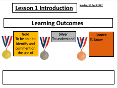 Lesson Powerpoint Template