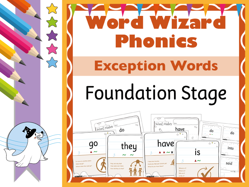 Phonics Exception & High Frequency Words